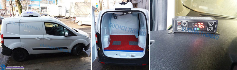 Guchen Thermo Electric Van Refrigeration Units for Small Cargo Vans