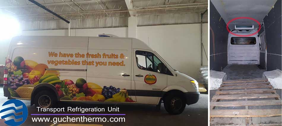 Guchen Thermo C-300t Van Refrigeration Units Installation Example