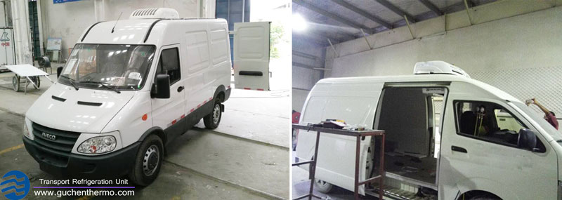 how to convert a van into a refrigeration van