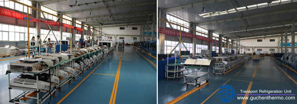 guchen thermo transport refrigeration units factory