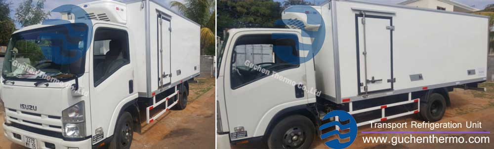 guchen thermo distributor truck refrigeration units