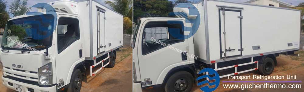 guchen thermo distributor truck refrigeration units