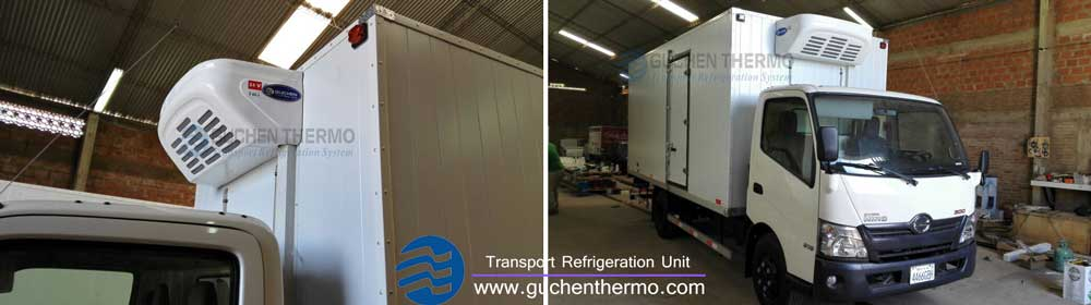 tr-450 refrigerated transport systems in Chile