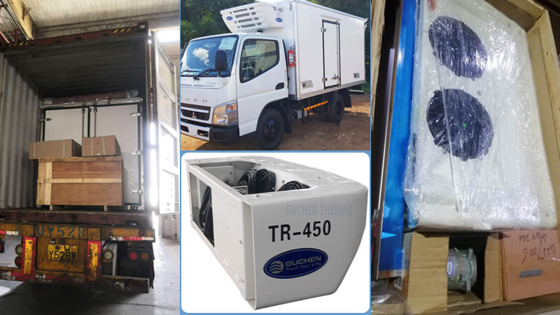 tr-450 reefer unit Africa