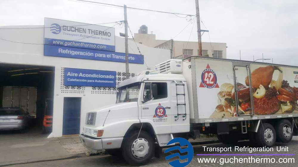 Guchen Thermo Overseas Maintenance and Service Center in Argentina