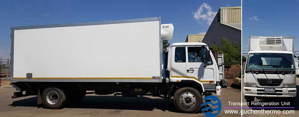 TR-650 Truck Refrigeration Units in South Africa Installed on 8m Trucks