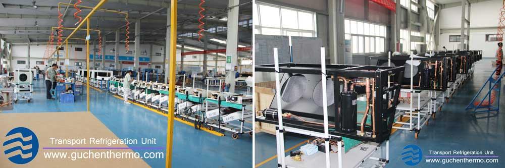 Guchen Thermo Export Truck Refrigeration Units Thailand
