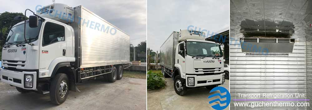 truck refrigeration units Thailand