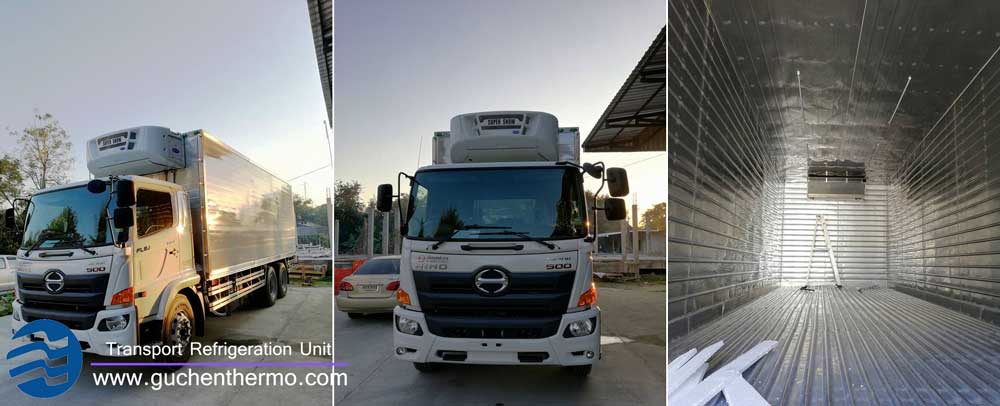 TS-1000 diesel truck refrigeration system to Thailand