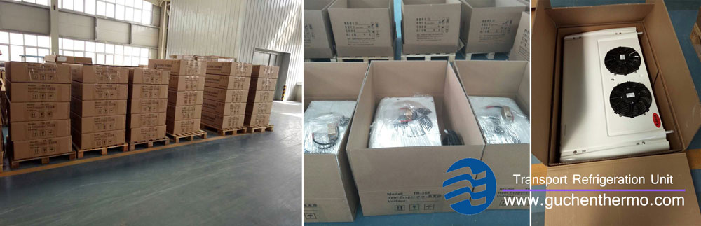 Guchen Thermo Truck Refrigeration Units are Ready to Delivery to Morocco