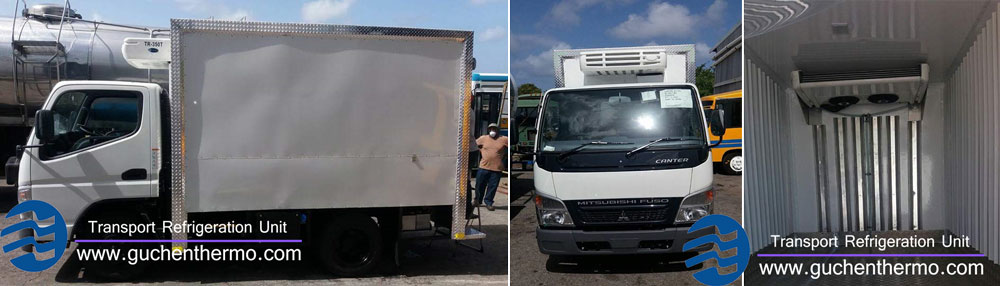 TR-350 vehicle refrigeration units export to barbados