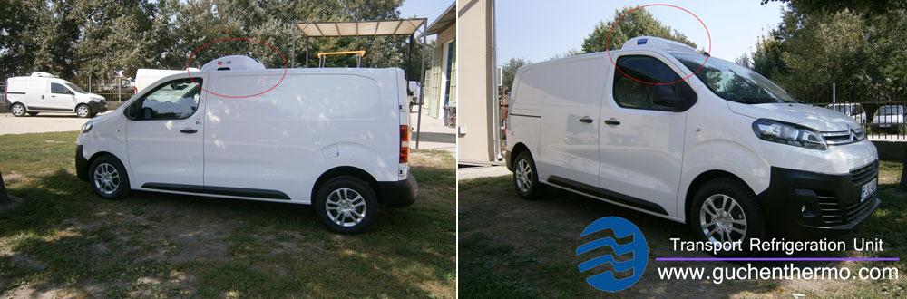 TR-110D Van Refrigeration Installation for Citroen Van