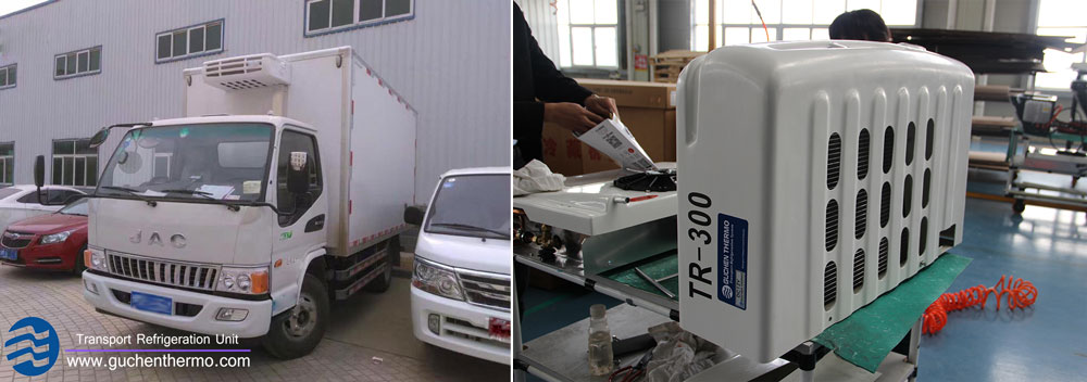 truck refrigeration suppliers, customized truck refrigeration unit for indonesia