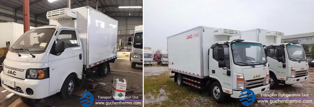 Guchen Thermo TR-300 direct drive transport refrigeration units china Installation