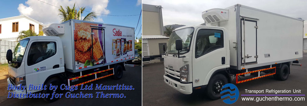 TR-450 Direct Drive Transport Refrigeration Units for Mauritius|Guchen Thermo