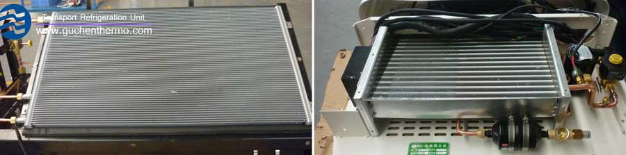 the condenser of transport refrigeration units