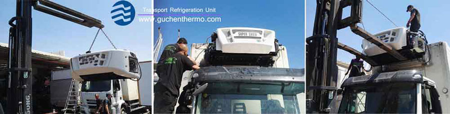 ts-1000 refrigeration unit for truck