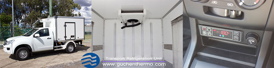 tr-200 truck freezer unit for pickup