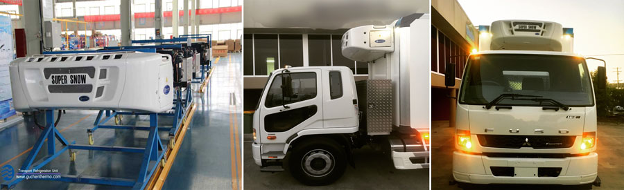 ts-1000 big truck refrigeration units