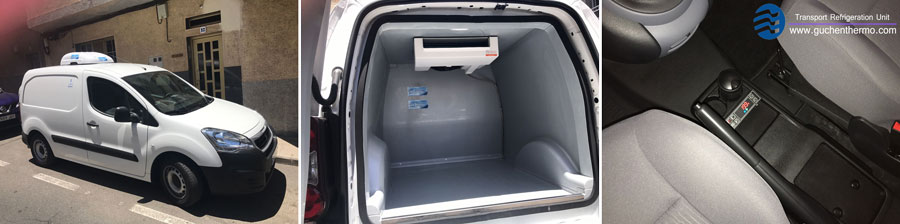 TR-110D electric small van refrigeration units