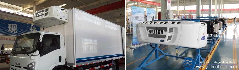 diesel engine truck refrigeration units guchen thermo