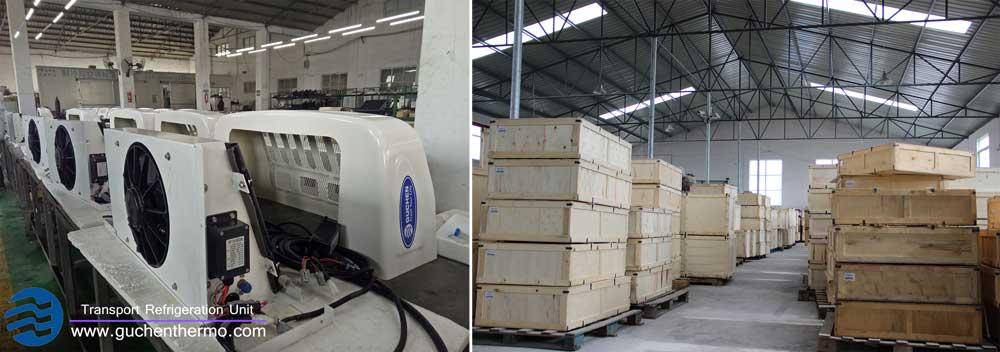 TR-110D Van Reefer Units for Sale to Spain