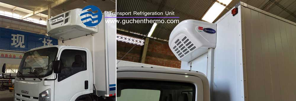 Guchen Thermo TS-1000 Diesel Engine Truck Refrigeration Units and TR-450 Truck Refrigeartion Unit