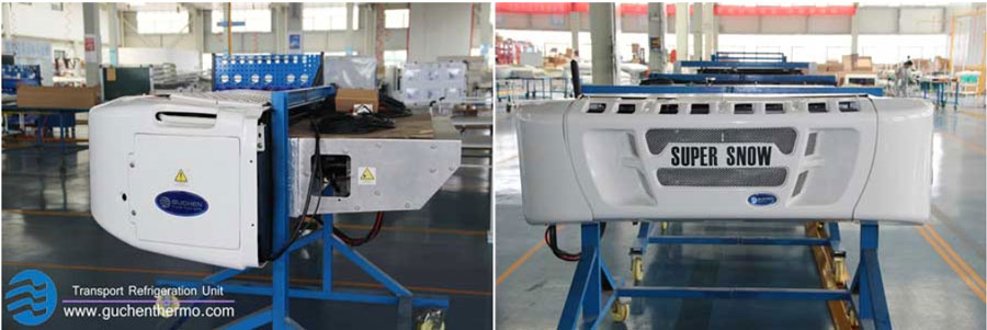 guchenthermo truck refrigeration in factory