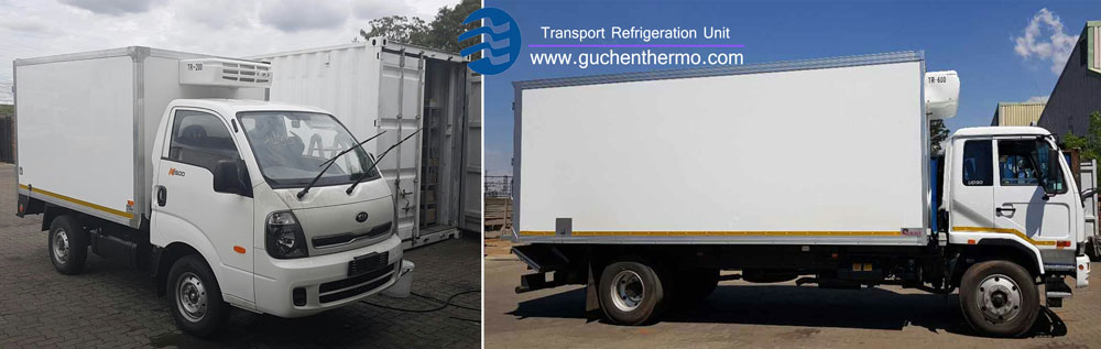 TR-200 and TR-650 truck refrigeration units installation