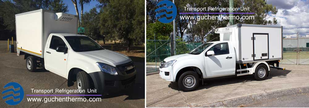 Guchen Thermo C-200 and TR-200 refrigeration units for Ute