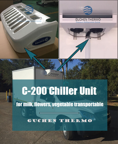 C-200 Chiller Unit for Milk Transportation