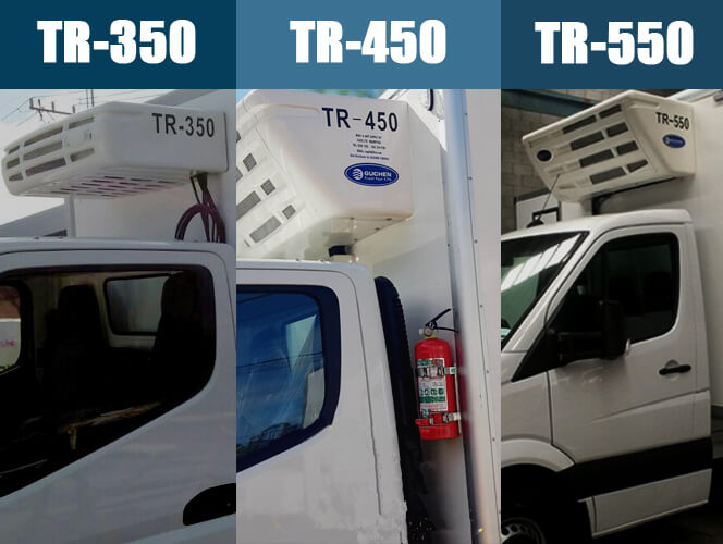 Guchen Thermo TR Series Truck Reefer Units