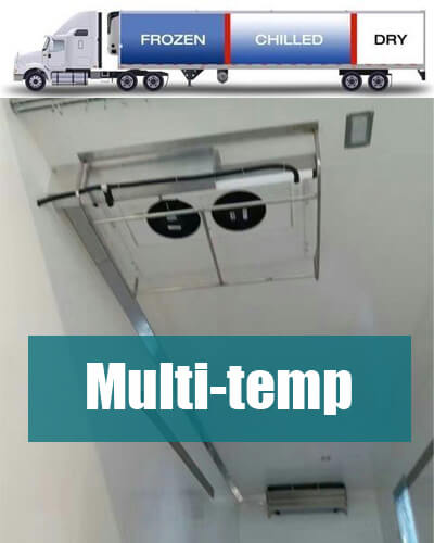 Multi Temperature Road Transport Refrigeration System