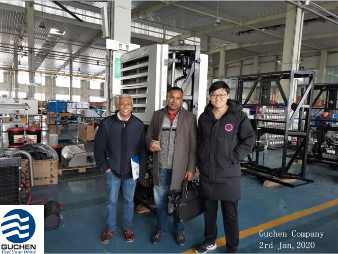 Philippine customer pay a visit to Guchen Thermo