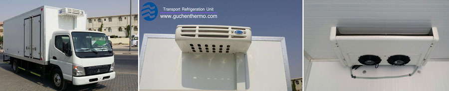 TR-350 Vehicle refrigeration export to Bangladesh