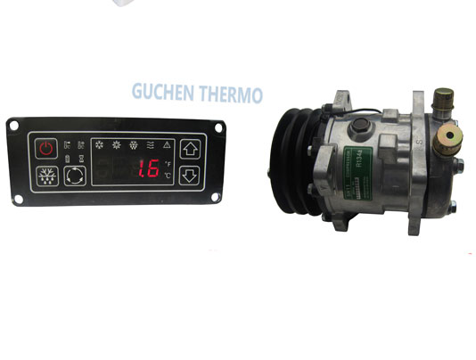 guchen thermo c 200t van chiller units digital panel and compressor