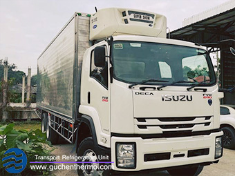 TS-1000 diesel engine truck reefer units for sale guchen thermo