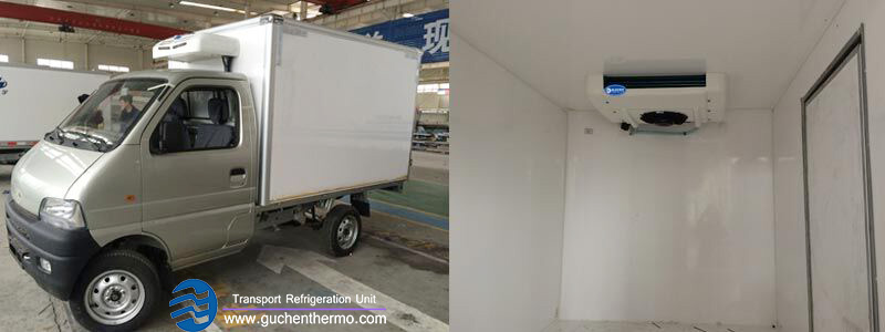 Guchen Thermo TR-200 small truck refrigeration units